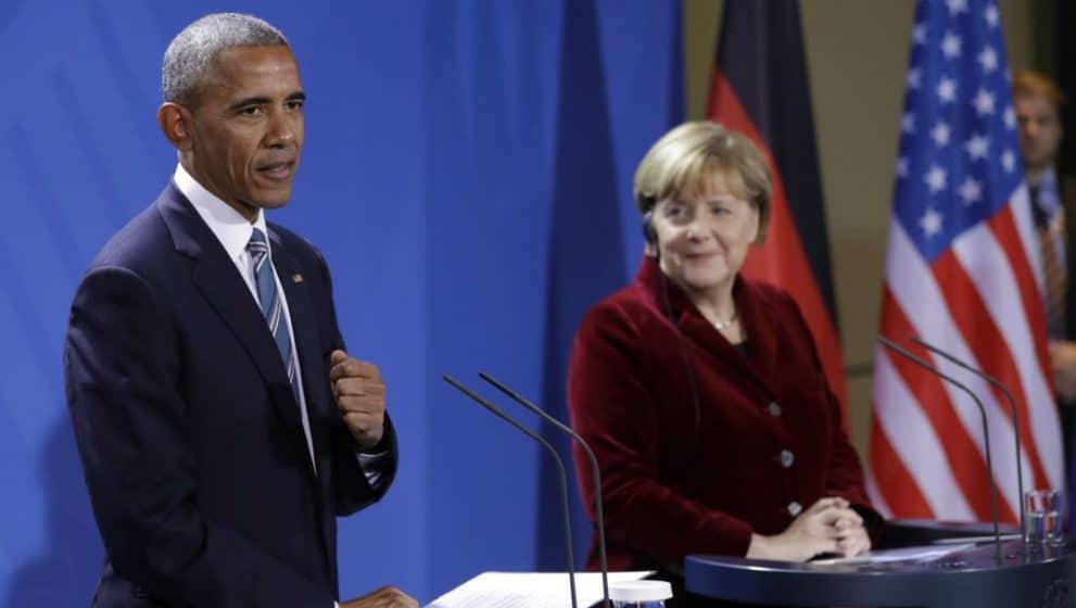 President Barack Obama in Dresden
